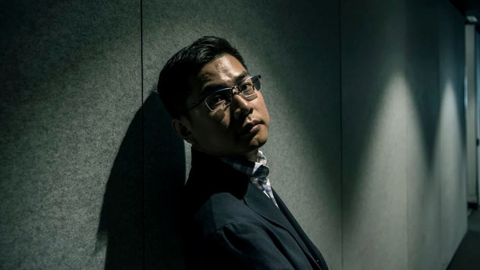 """Wang """"William"""" Liqiang photographed for The Age newspaper"""