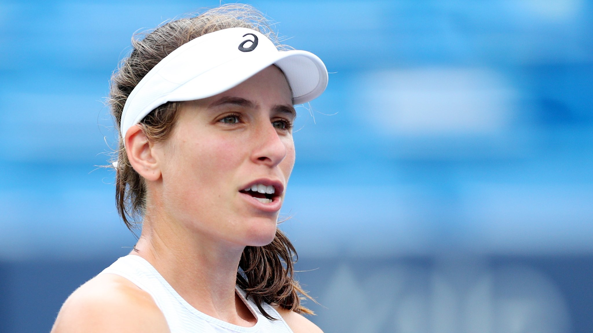 Johanna Konta withdraws from Connecticut Open with viral illness