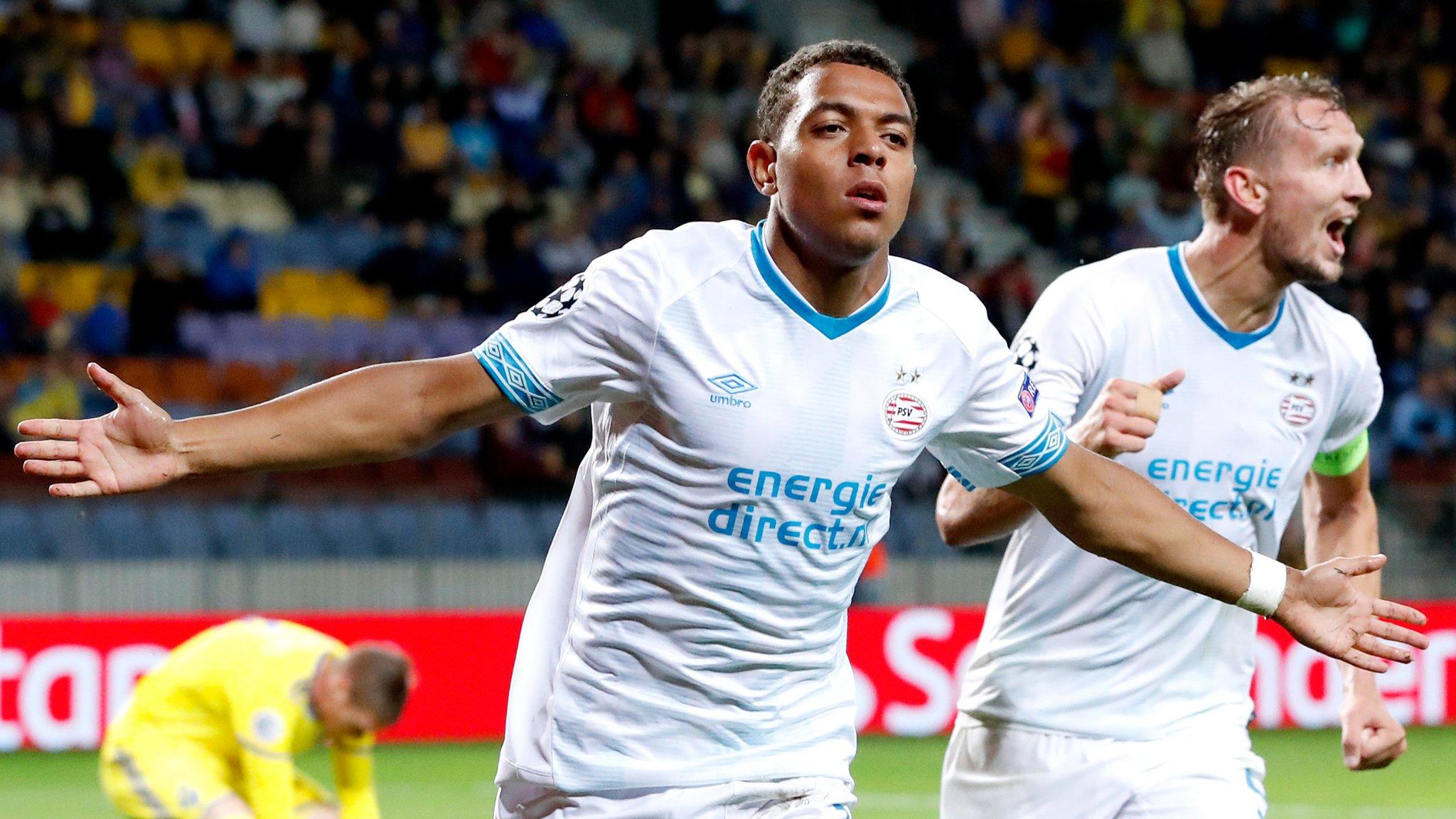BATE Borisov 2-3 PSV Eindhoven