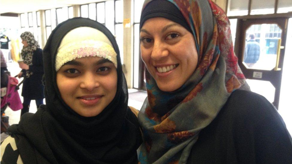 Aisha and Olima