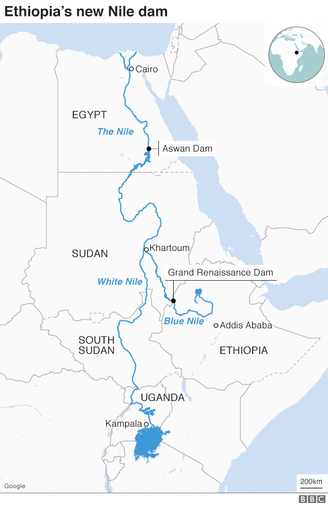Ethiopia River Nile dam: PM condemns 'aggressions' after Trump comment thumbnail