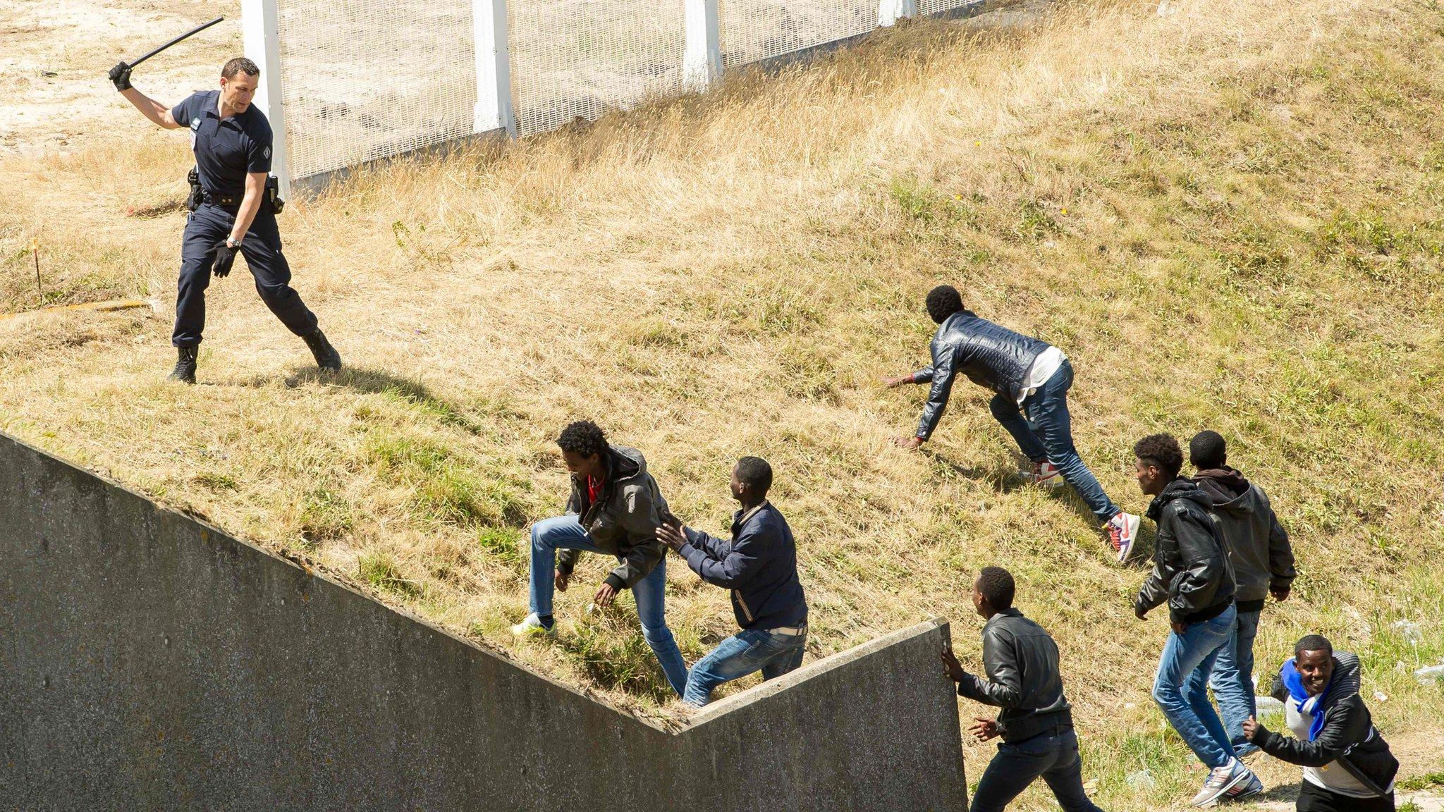 Захват жилья в испании мигрантом