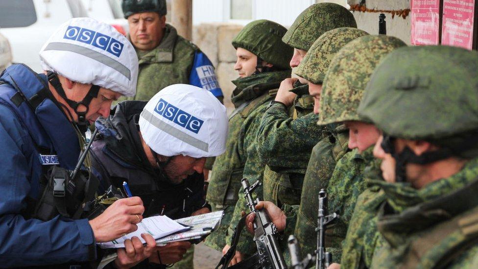 ОБСЄ побачило обстріли біля Петрівського. Коли там буде розведення?