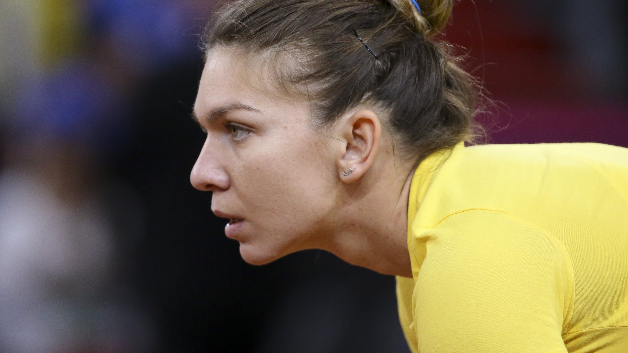 Simona Halep pulls out of Stuttgart Open with hip injury suffered in Fed Cup
