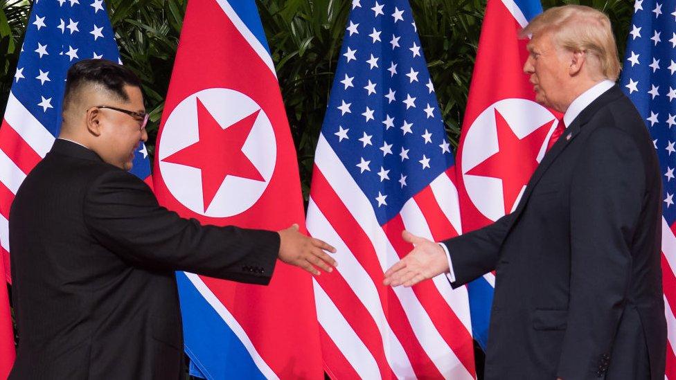 Singapore summit between Trump and Kim