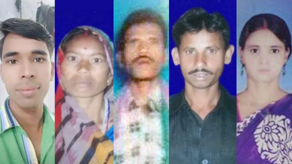 Sagheer Ansari, Pramila Sahu, Naresh Singh, Krishna Sahu and Sanju Yadav