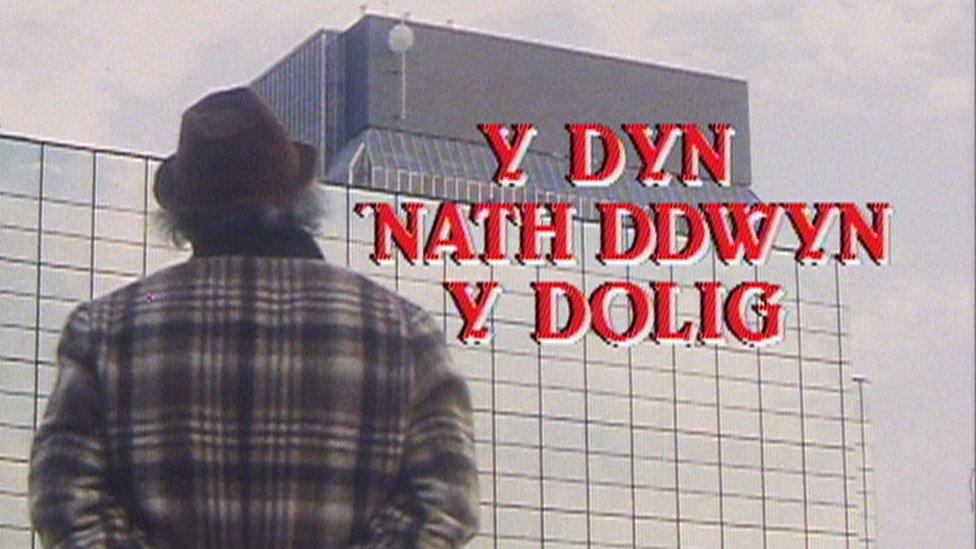 Y dyn 'nath ddwyn y Dolig