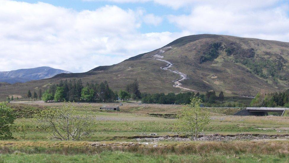 Vehicle tracks 'damaging' landscapes