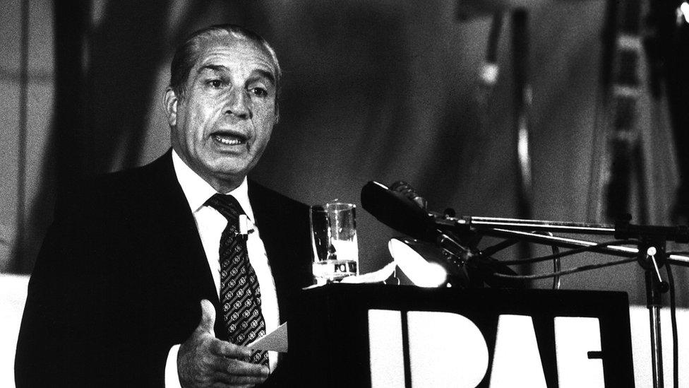 Francisco Morales en 1975