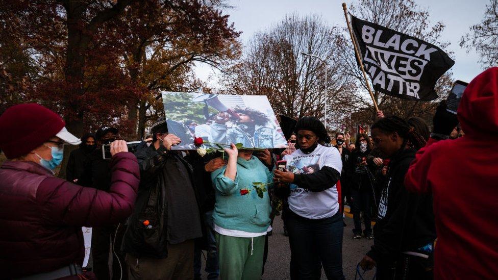 Vigilia de Black Lives Matter