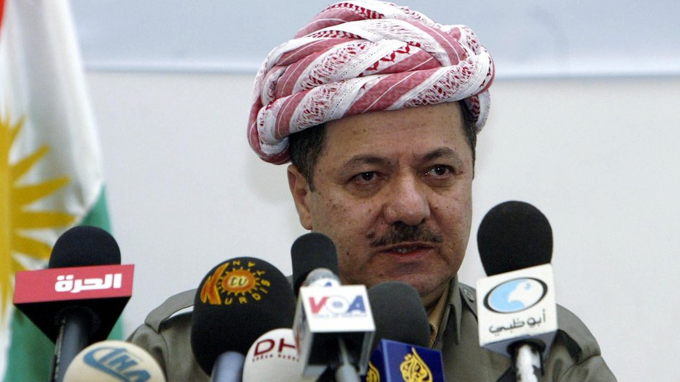 Iraqi Kurdistan's Massoud Barzani