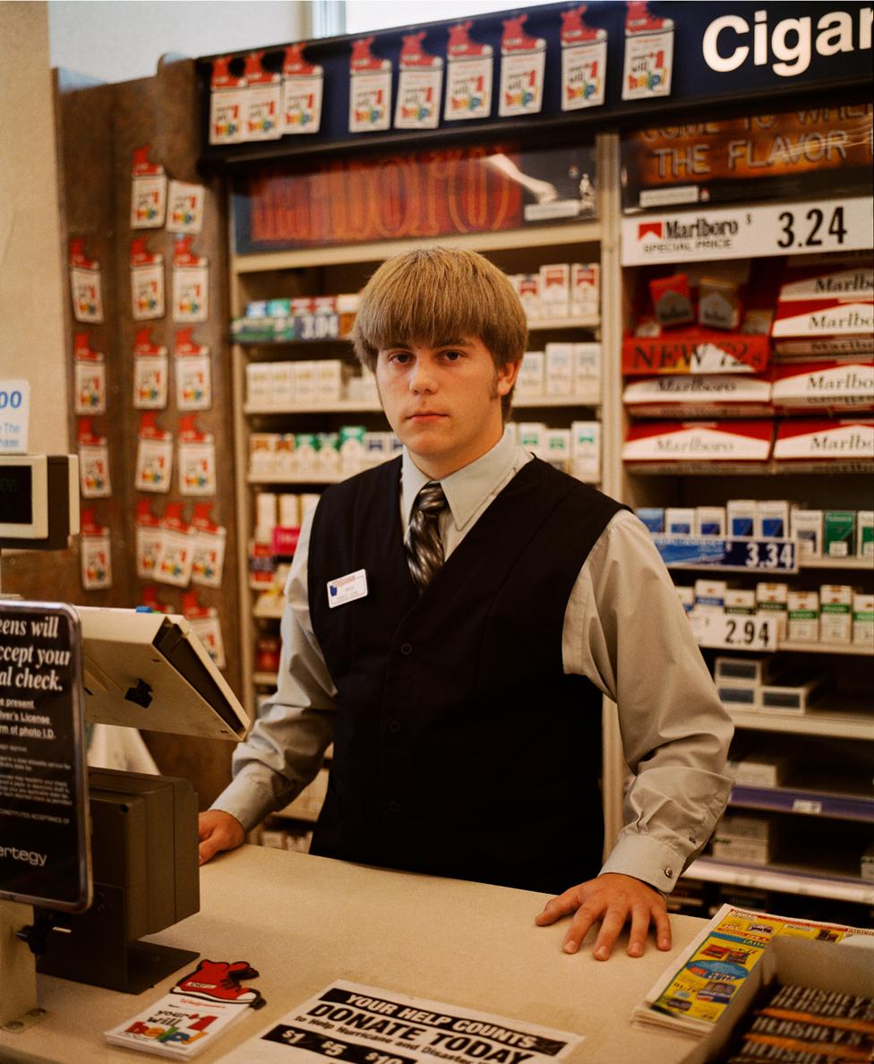 John, Service Clerk, Cubby's Grocery Store, Omaha
