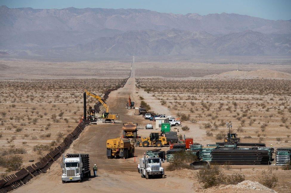 construction along the border