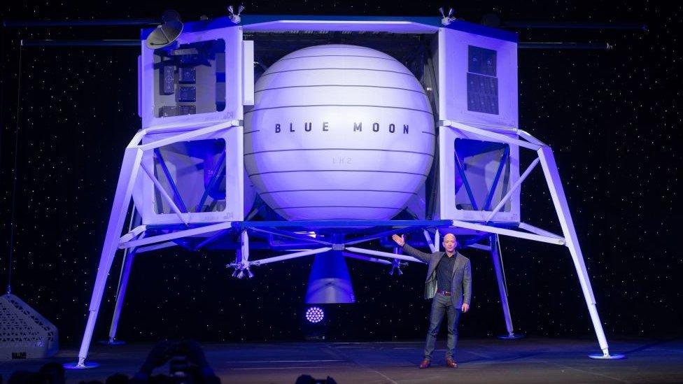 Vehículo de aterrizaje lunar