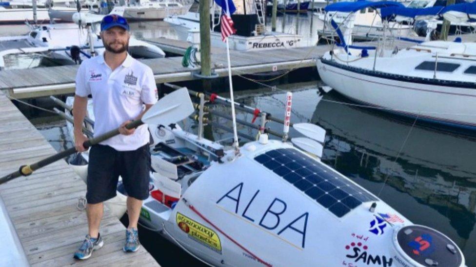 Scots rower Niall Iain Macdonald describes Atlantic rescue