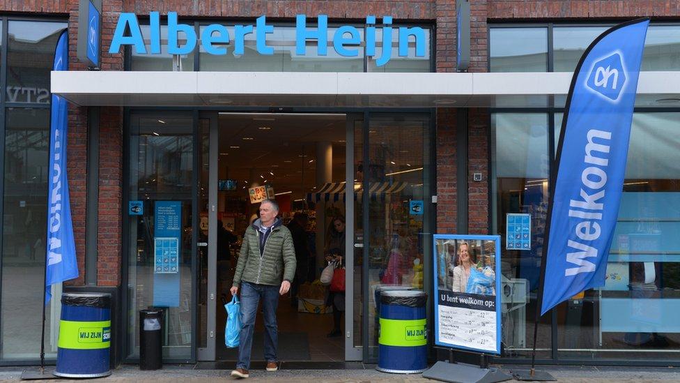 ألبرت هاين أكبر سلسلة متاجر في هولندا