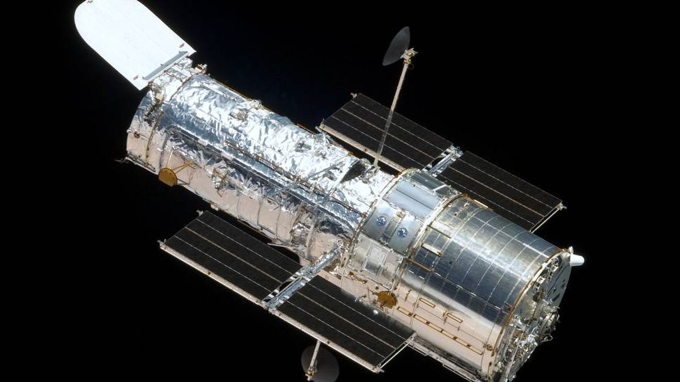 Telescopio espacial Hubble.