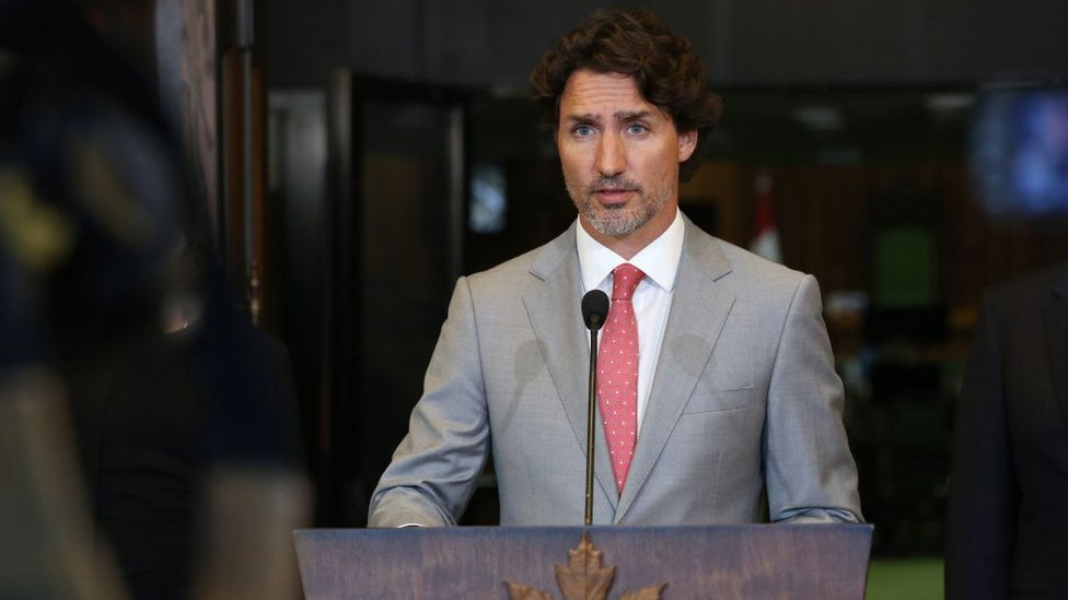 Canadian PM Justin Trudeau backs farmers protest against Indian govt