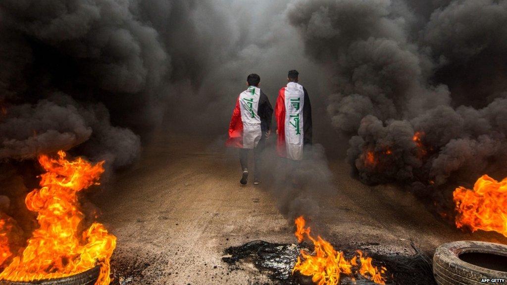 इराक़ में विरोध प्रदर्शनों की ज़मीन किसने सींची