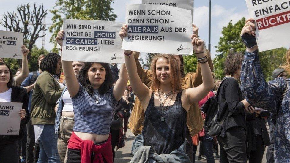 protest u Austriji