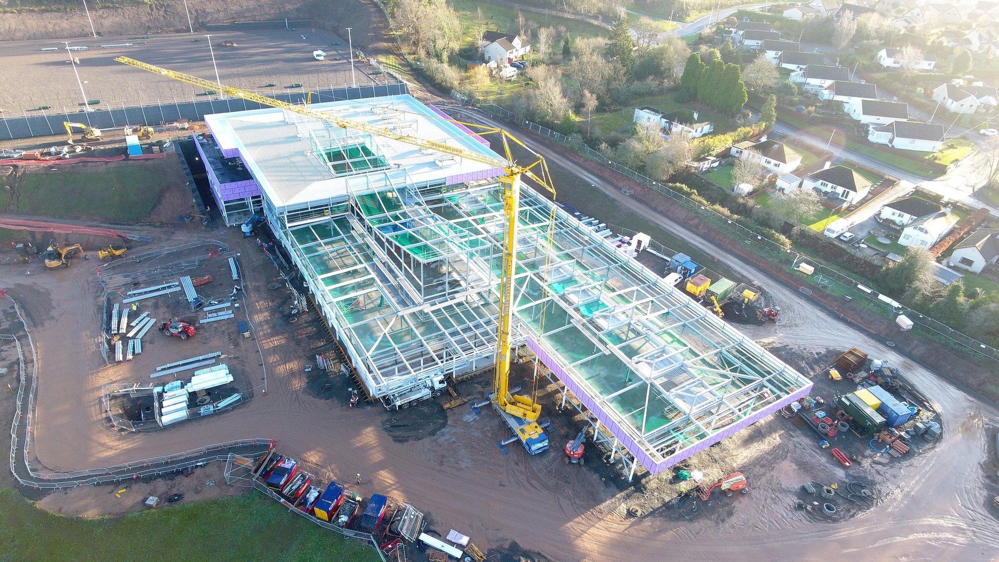 £32m Jedburgh schools campus taking shape