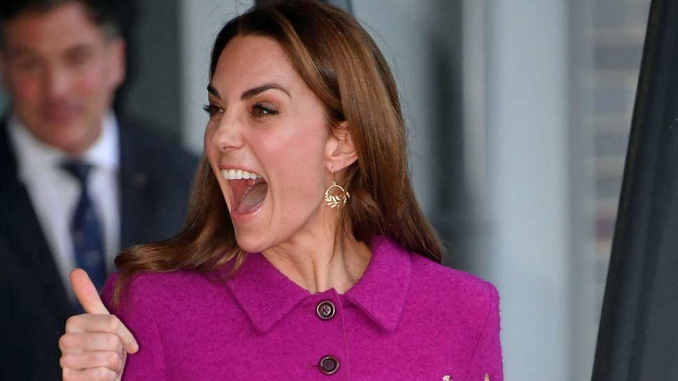 Duchess of Cambridge visits The Nook in Norfolk.