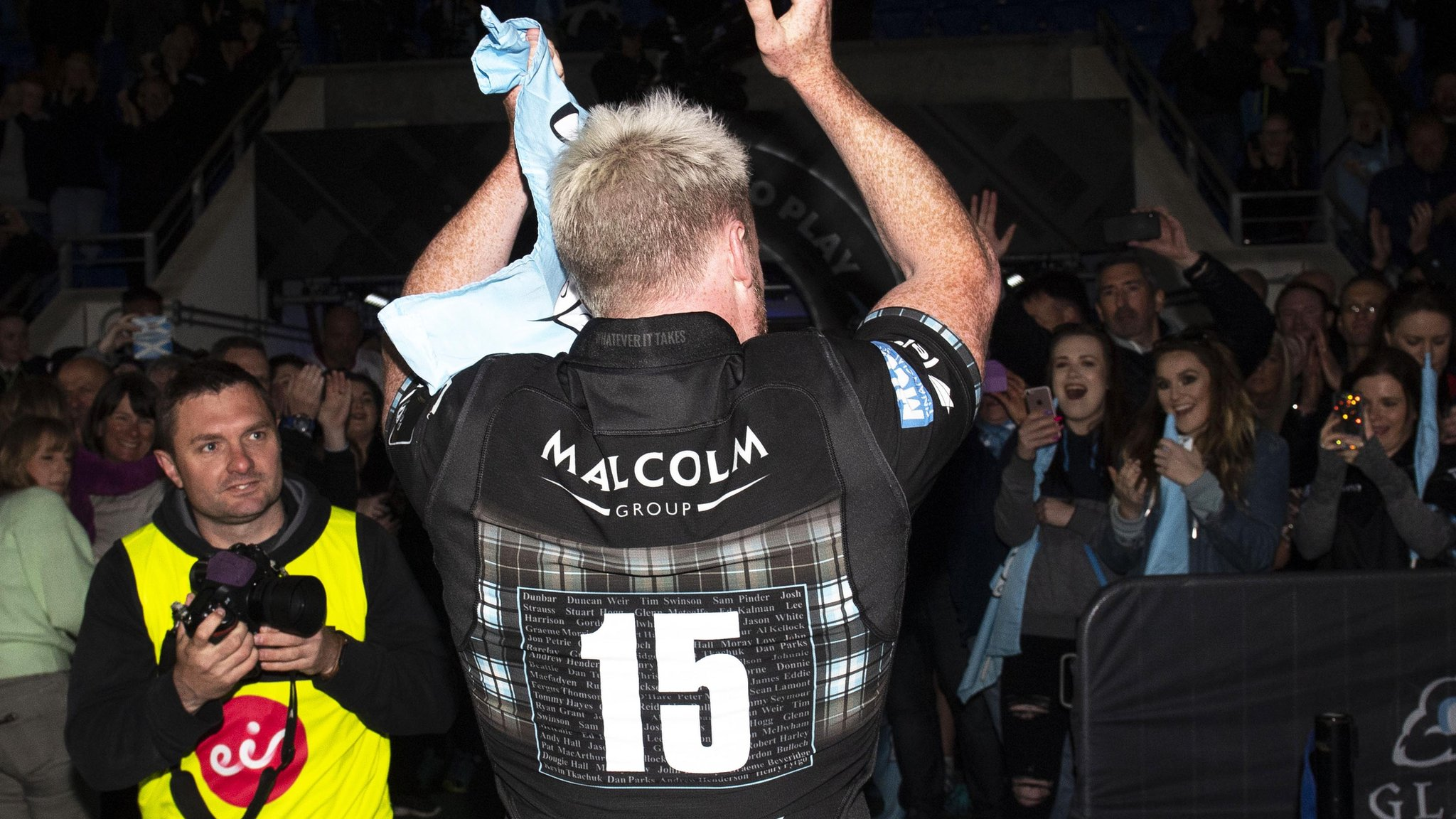 Top Hogg: Departing star's five best moments for Glasgow