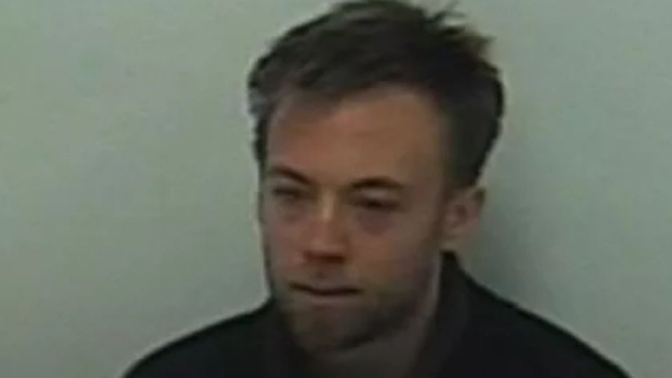 Jack Shepherd during police interview