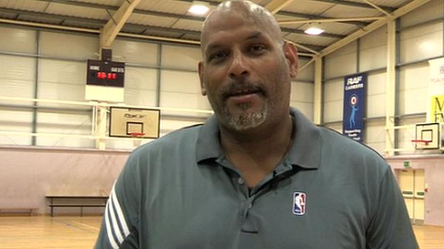 Former NBA star John Amaechi on the basics of basketball