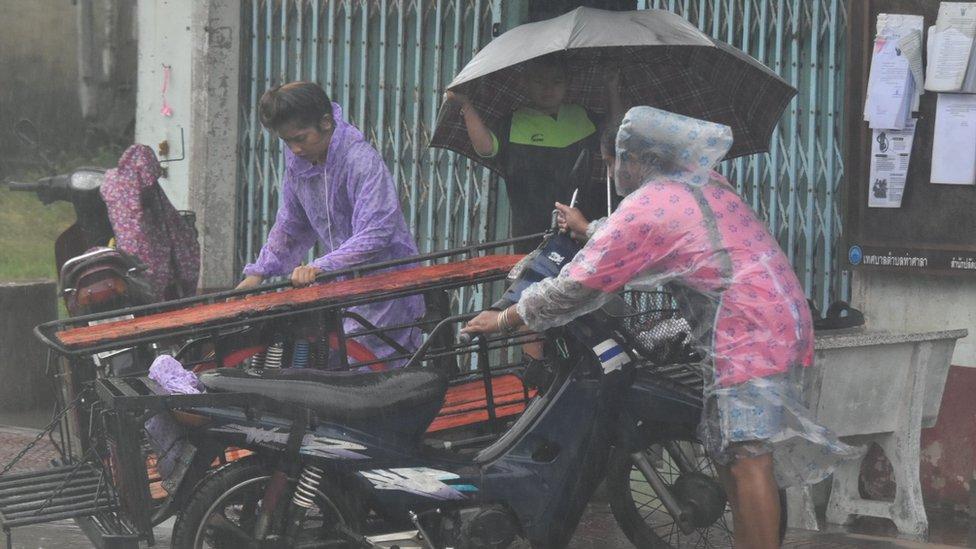 oluja na Tajlandu
