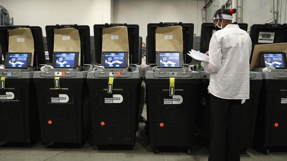 多米寧軟件在本次選舉中廣泛應用於投票機和點票機。