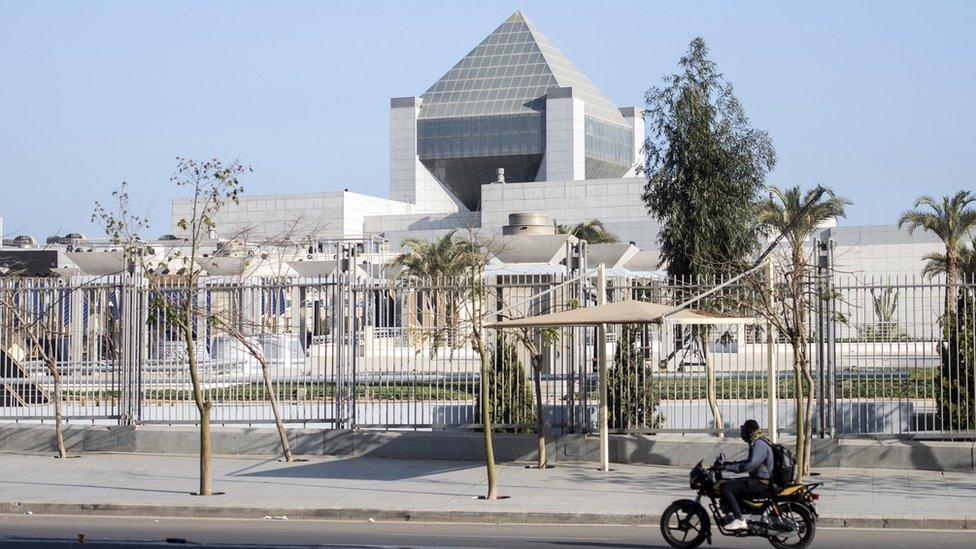 El Museo Nacional de la Civilización Egipcia