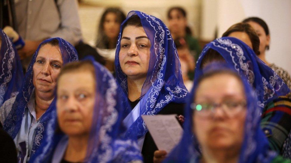 مسيحيات عراقيات