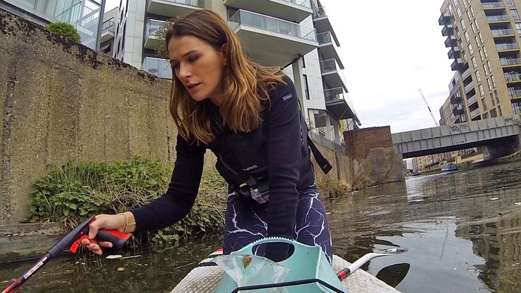 Plastic patrol: 'I've pulled engines out of the water'