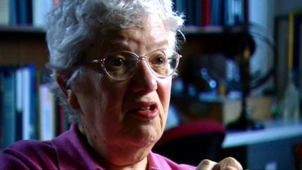 薇拉·魯賓接受BBC訪問