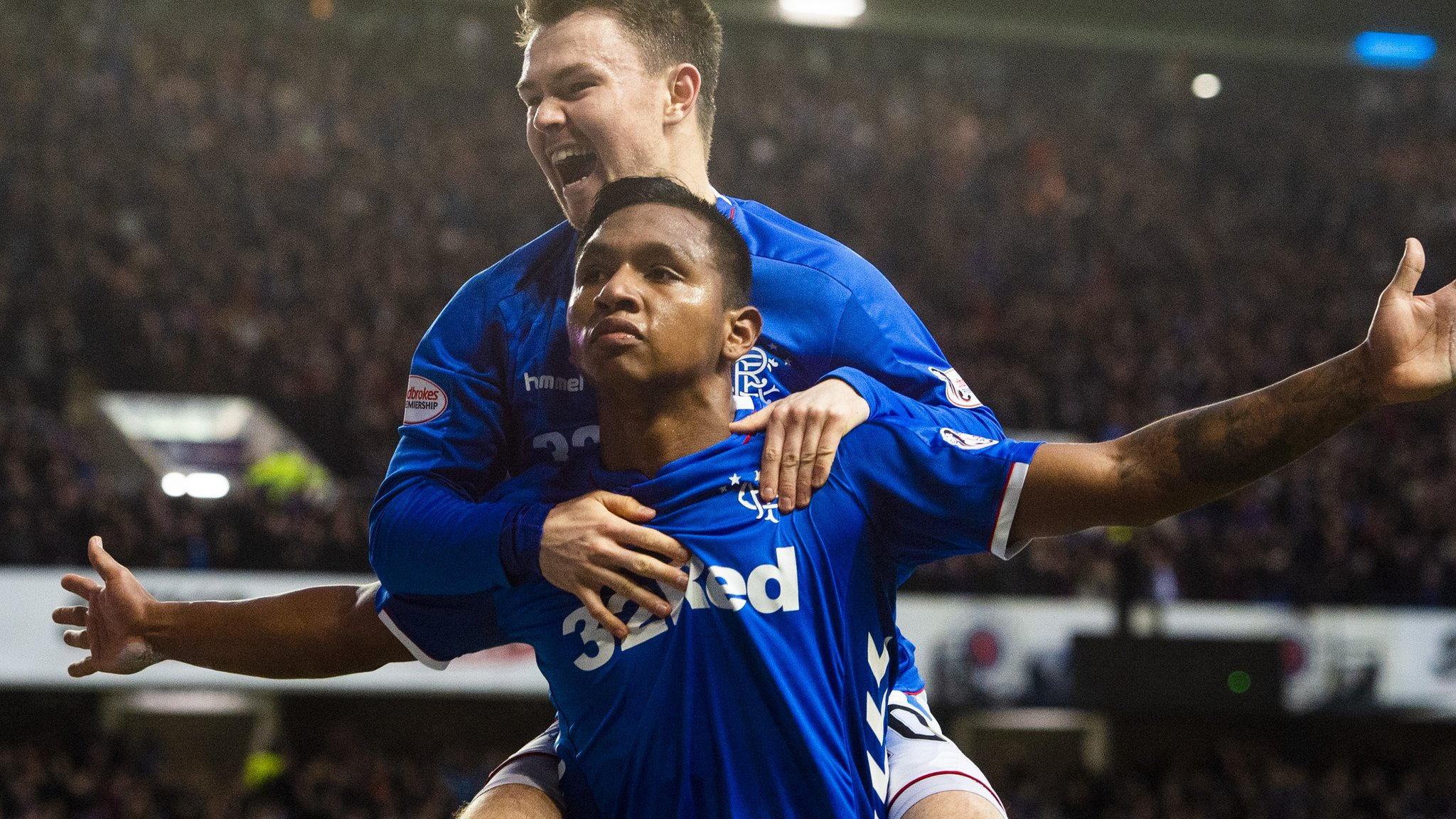 Steven Gerrard: Rangers boss says Morelos is going nowhere in January