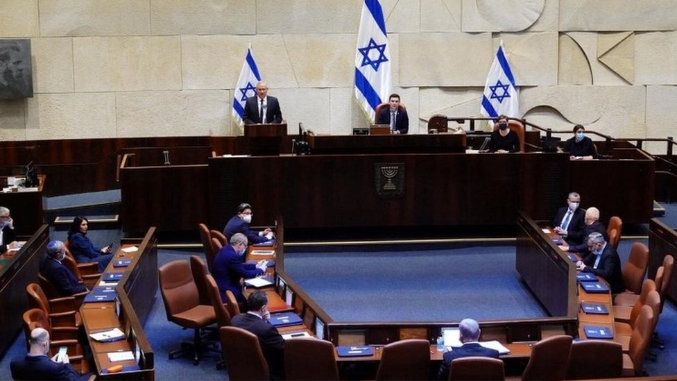 Israeli parliament (17/05/20)