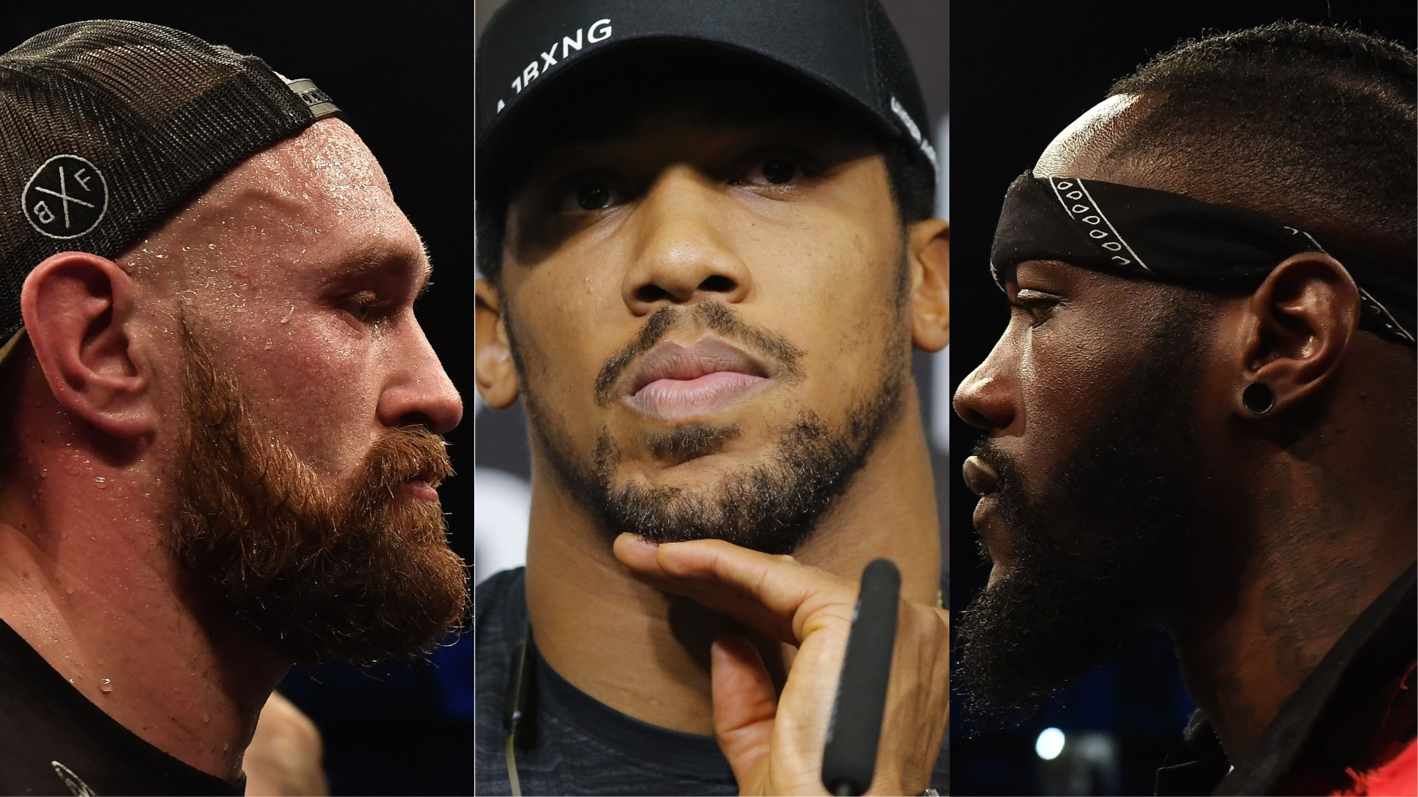 Anthony Joshua: Deontay Wilder or Tyson Fury 'not a problem' says Barry Hearn