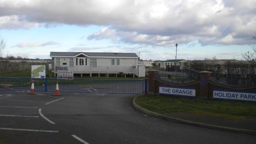The Grange Holiday Park in Ingoldmells