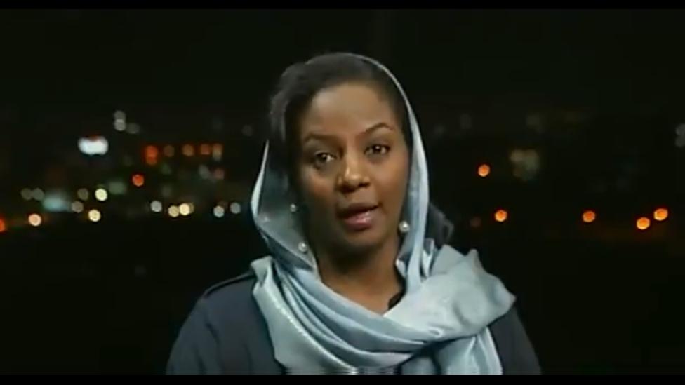 ميرفت حمد النيل على شاشة بي بي سي