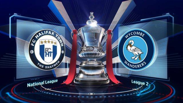 Highlights: Halifax 0-4 Wycombe