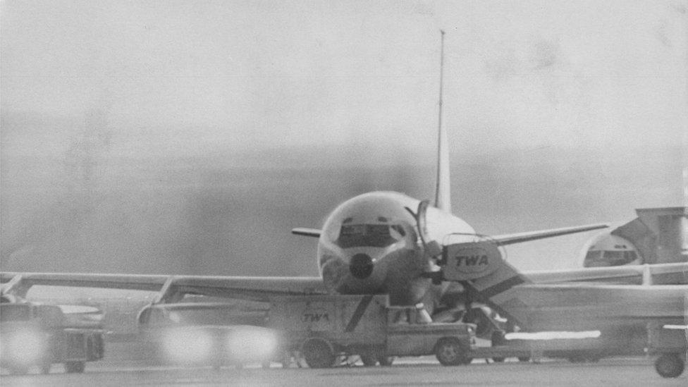 TVA85, jedan od bučnijih Boing 707 aviona, tokom otmice
