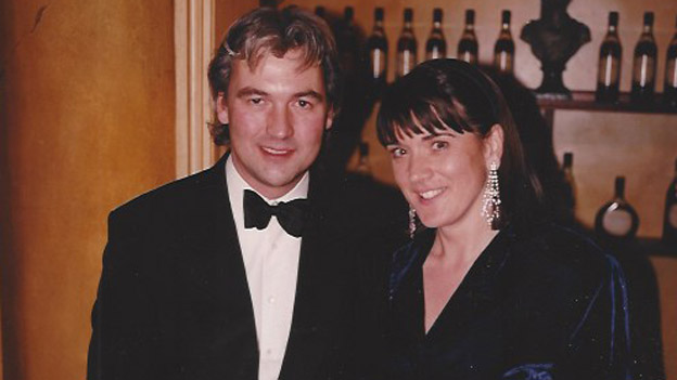 Robin y Judy Hutson en 1997