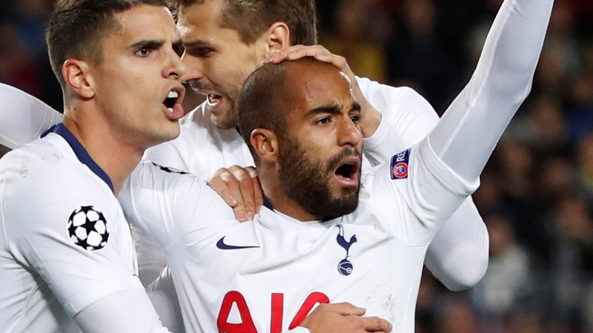 Late Moura goal secures remarkable qualification for Spurs