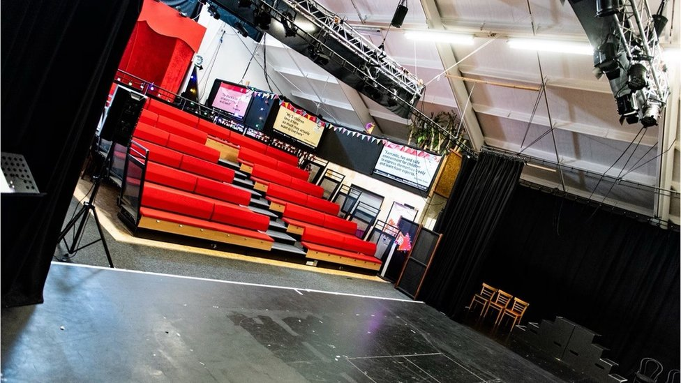 The Talent Shack's theatre