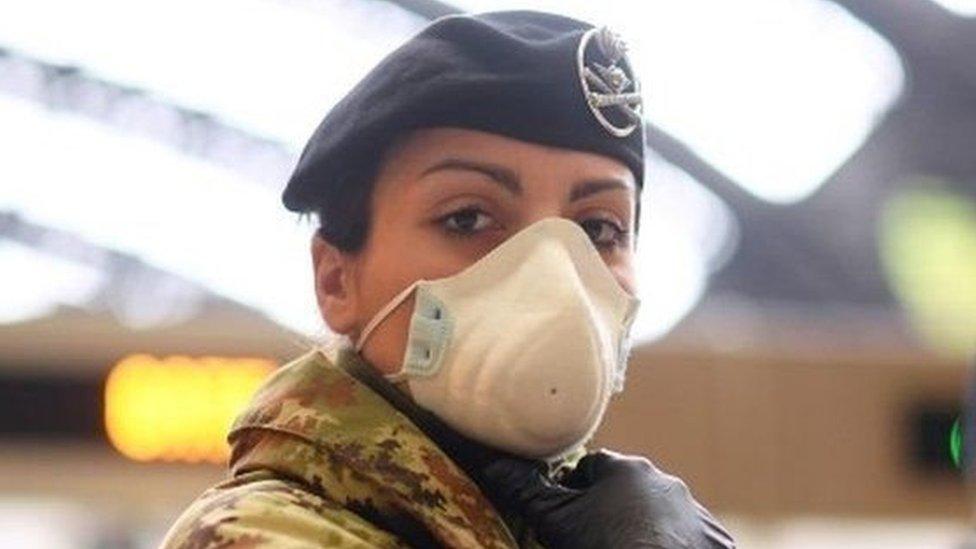 Penanganan wabah virus corona di Italia
