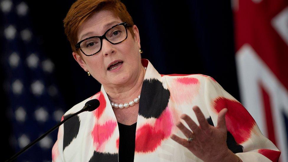 澳洲外長佩恩形容,過去一星期發生的事情是「一連串令人失望的事件」。