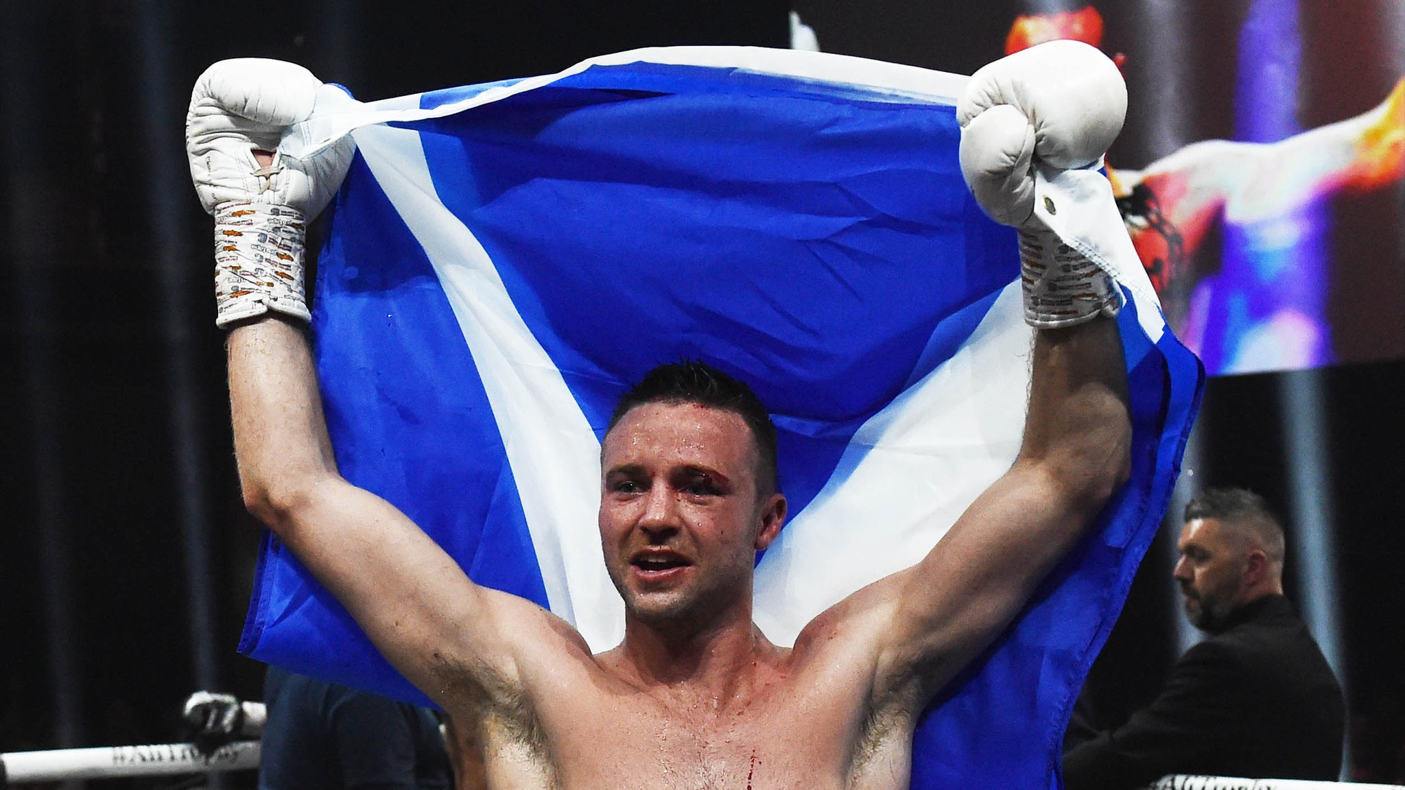 Josh Taylor secures first world title with points victory against Ivan Baranchyk