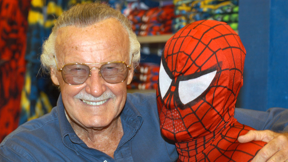 Stan Lee dan Spider-Man