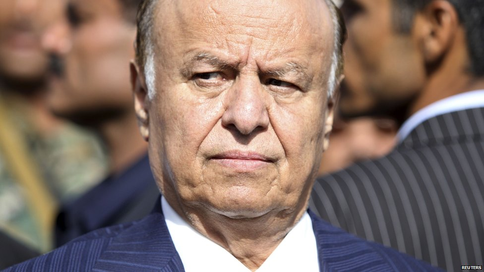 Yemeni President Abdrabbo Mansour Hadi pictured in 2012